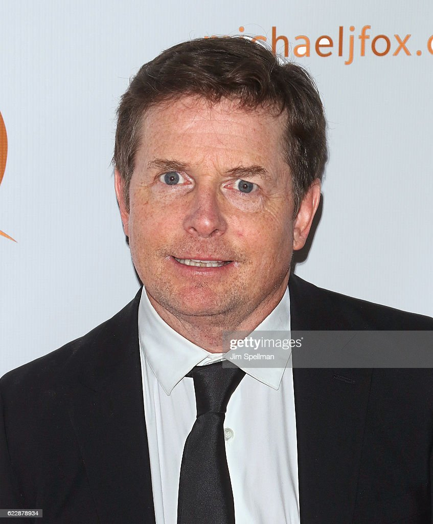 Actor Michael J. Fox attends the 2016 A Funny Thing Happened On The Way To Cure Parkinson's at The Waldorf Astoria on November 12, 2016 in New York City.
