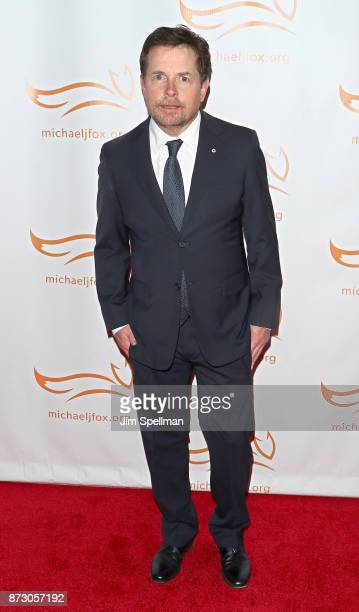 Actor Michael J Fox attends the 2017 A Funny Thing Happened on the Way to Cure Parkinson's event at the Hilton New York on November 11 2017 in New...