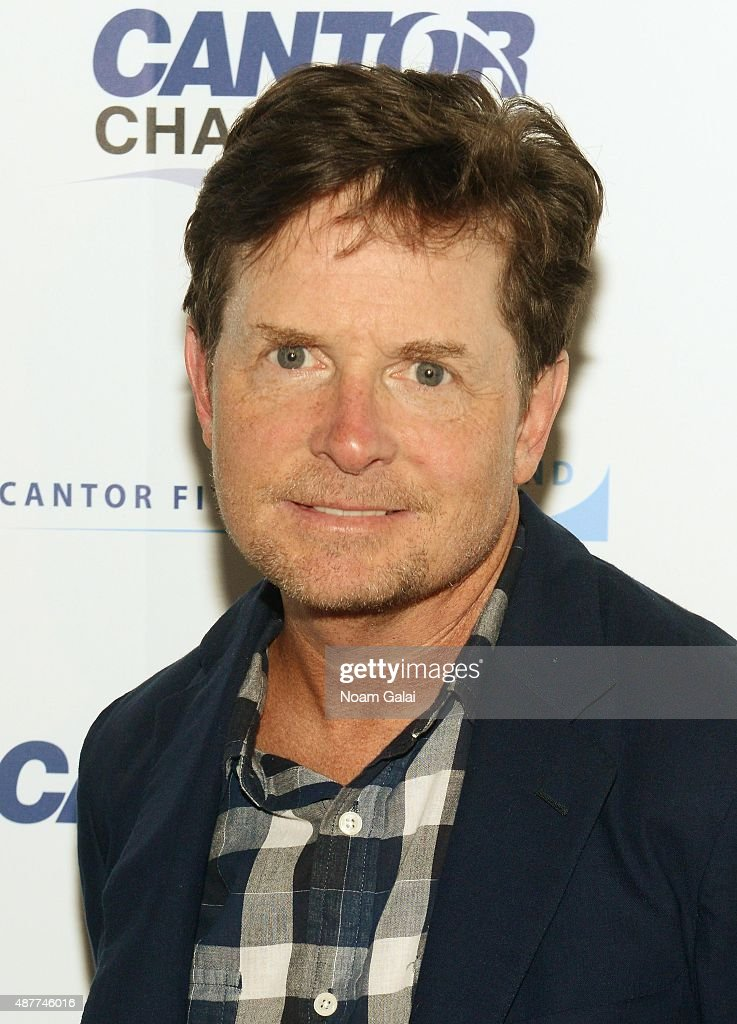 Actor Michael J. Fox attends the annual Charity Day hosted by Cantor Fitzgerald and BGC at Cantor Fitzgerald on September 11, 2015 in New York City.