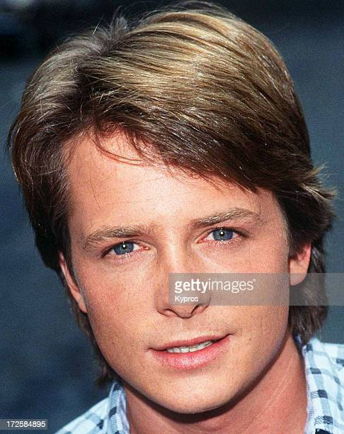 Actor Michael J Fox circa 1988