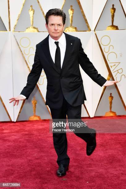 Actor Michael J Fox Hollywood Highland Center on February 26 2017 in Hollywood California