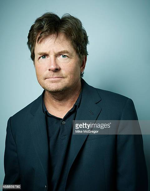 Actor Michael J. Fox is photographed Self Assignment on September 11, 2014 in New York City.