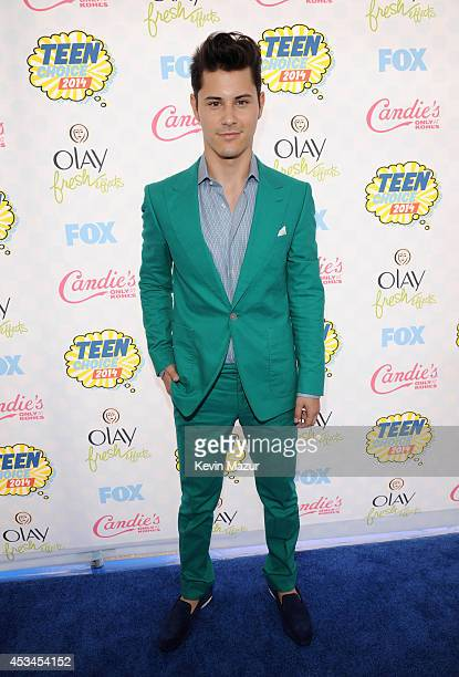Actor Michael J Willett attends FOX's 2014 Teen Choice Awards at The Shrine Auditorium on August 10 2014 in Los Angeles California