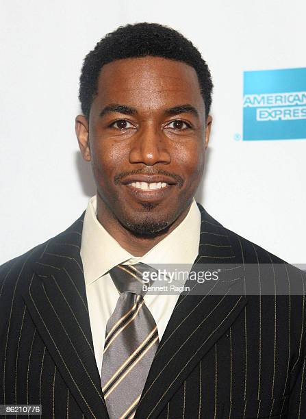 Actor Michael Jai White attends the 8th Annual Tribeca Film Festival Black Dynamite premiere at AMC Village VII on April 24 2009 in New York City New...