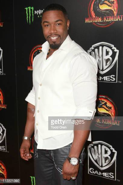 "Actor Michael Jai White attends the ""Mortal Kombat Legacy"" digital series premiere celebration at Saint Felix II on April 14, 2011 in Hollywood,..."