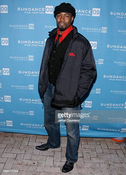 Actor Michael Jai White attends the premiere of Black Dynamite during the 2009 Sundance Film Festival at Library Center Theatre on January 18 2009