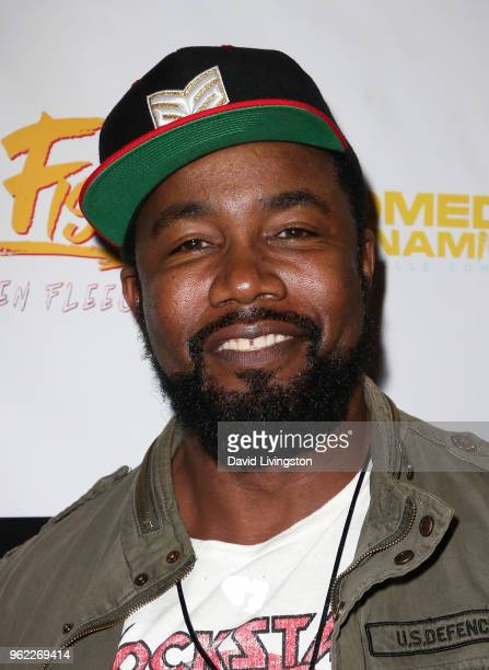 Actor Michael Jai White attends the premiere of Comedy Dynamics' The Fury of the Fist and the Golden Fleece at Laemmle's Music Hall 3 on May 24 2018...