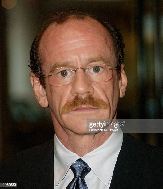 Actor Michael Jeter attends the Casting Society of America's Artios Awards October 4 2001 in Beverly Hills CA