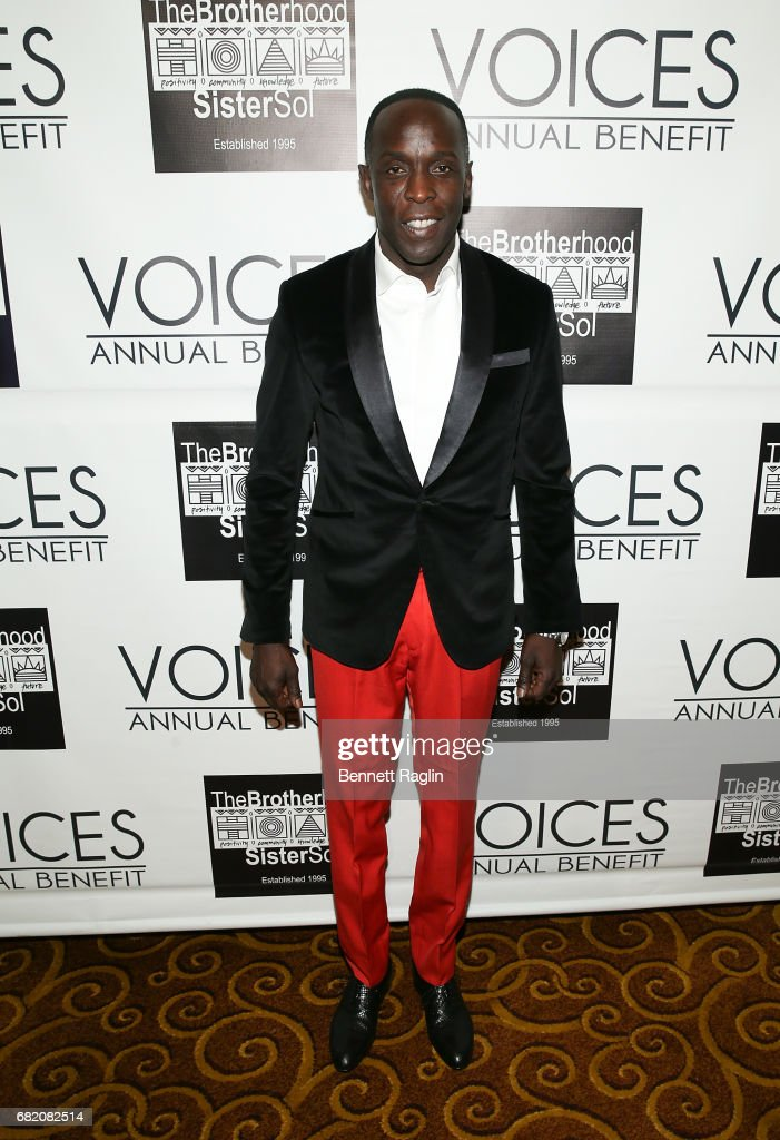 Actor Michael K. Williams attends the Brotherhood/Sister Sol 2017 Gala at Gotham Hall on May 11, 2017 in New York City.