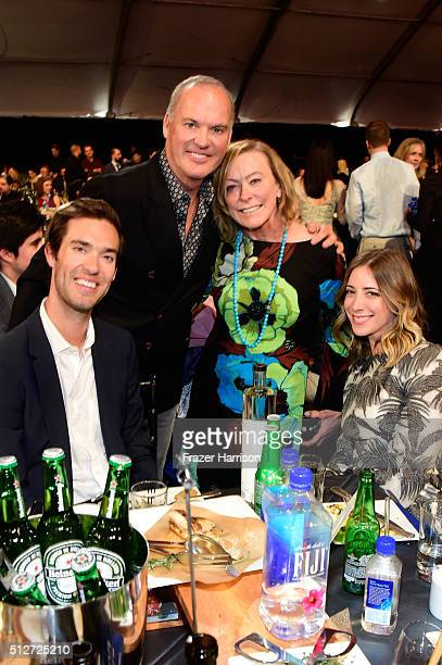 Actor Michael Keaton and guests attend the 2016 Film Independent Spirit Awards on February 27 2016 in Santa Monica California