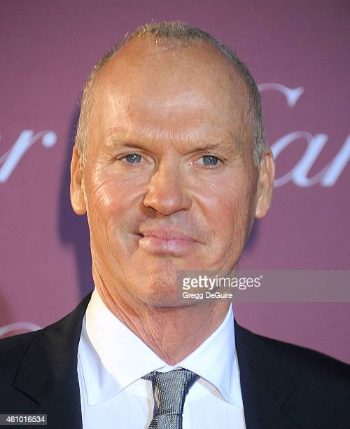 Actor Michael Keaton arrives at the 26th Annual Palm Springs International Film Festival Awards Gala Presented By Cartier at Palm Springs Convention...