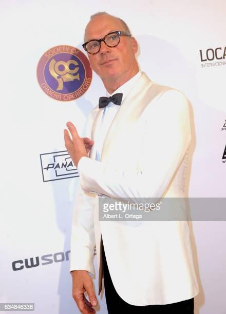 Actor Michael Keaton at the 2017 Society Of Camera Operators Awards held at Loews Hollywood Hotel on February 11 2017 in Hollywood California