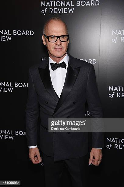 Actor Michael Keaton attends the 2014 National Board of Review Gala at Cipriani 42nd Street on January 6 2015 in New York City