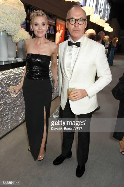 Actor Michael Keaton attends the 2017 Vanity Fair Oscar Party hosted by Graydon Carter at Wallis Annenberg Center for the Performing Arts on February...