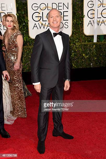 Actor Michael Keaton attends the 72nd Annual Golden Globe Awards at The Beverly Hilton Hotel on January 11, 2015 in Beverly Hills, California.