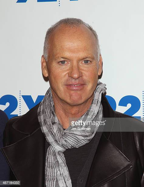 Actor Michael Keaton attends the 92nd Street Y Film Series 'Birdman Or The Unexpected Virtue Of Ignorance'at 92nd Street Y on October 13 2014 in New...