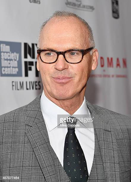 """Actor Michael Keaton attends the Closing Night Gala Presentation of """"Birdman Or The Unexpected Virtue Of Ignorance"""" during the 52nd New York Film..."""