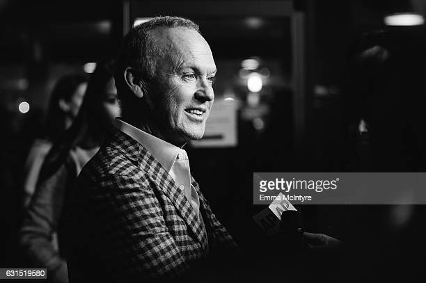 Actor Michael Keaton attends the premiere of the Weinstein Company's 'The Founder' at ArcLight Cinemas Cinerama Dome on January 11 2017 in Hollywood...