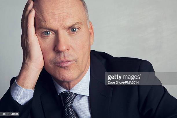 Actor Michael Keaton is photographed at the at the 2014 PEOPLE Magazine Awards on December 18 2014 in Los Angeles California