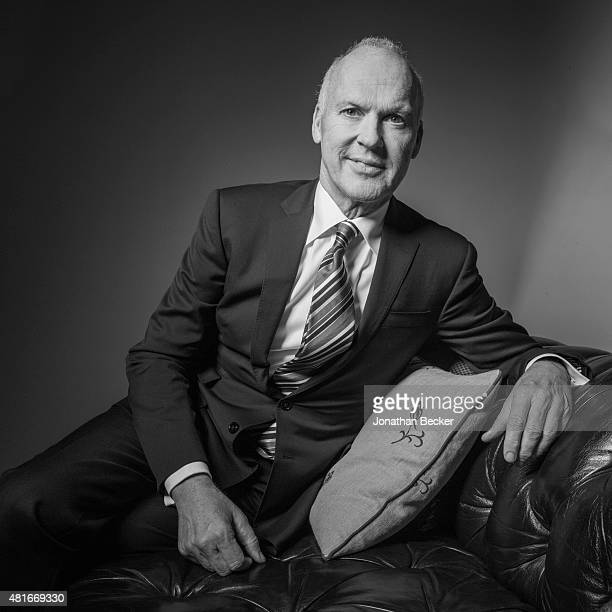 Actor Michael Keaton is photographed at the Charles Finch and Chanel's PreBAFTA on February 7 2015 in London England