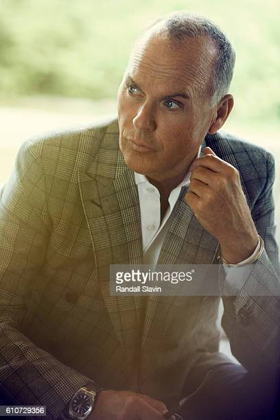 Actor Michael Keaton is photographed for Haute Living Magazine on May 4 2016 in Los Angeles CaliforniaPublished Image
