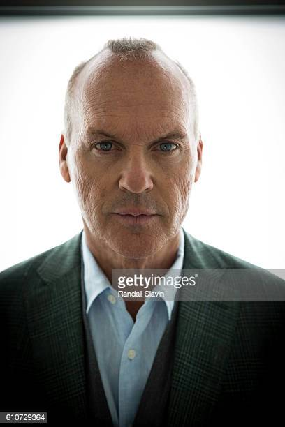 Actor Michael Keaton is photographed for Haute Living Magazine on May 4 2016 in Los Angeles California PUBLISHED IMAGE