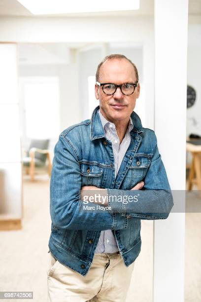 Actor Michael Keaton is photographed for USA Today on January 5 2017 in Los Angeles California