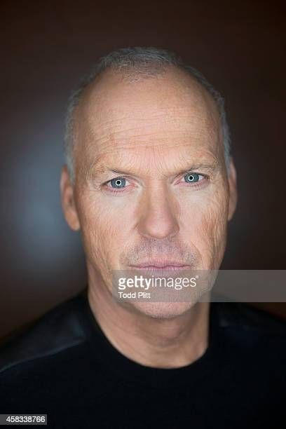 Actor Michael Keaton is photographed for USA Today on October 11, 2014 in New York City.