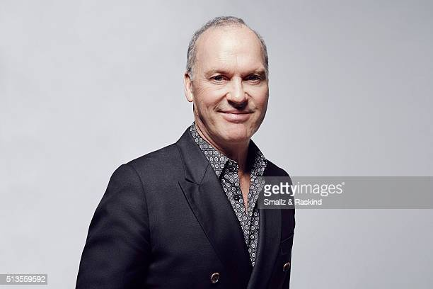 Actor Michael Keaton poses for a portrait at the 2016 Film Independent Spirit Awards on February 27 2016 in Santa Monica California