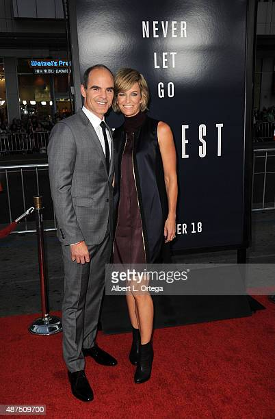Actor Michael Kelly and wife Karyn Kelly arrive for the Premiere Of Universal Pictures' 'Everest' held at TCL Chinese 6 Theatres on September 9 2015...