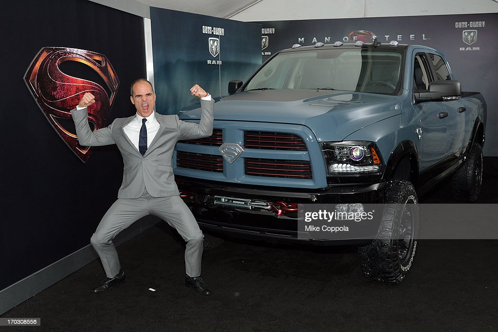 Actor Michael Kelly attends 'Man of Steel' NYC premiere sponsored by RAM at Alice Tully Hall at Lincoln Center on June 10, 2013 in New York City.