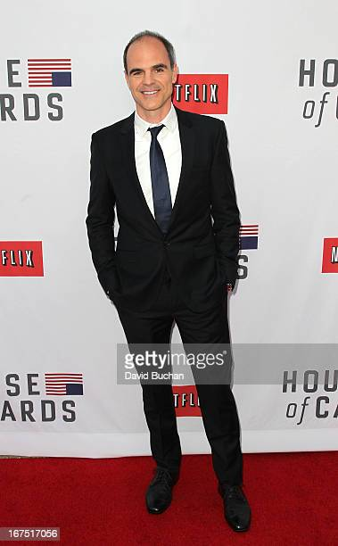 Actor Michael Kelly attends Netflix's House Of Cards For Your Consideration QA Event at Leonard H Goldenson Theatre on April 25 2013 in North...