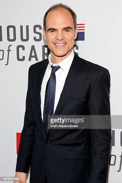 Actor Michael Kelly attends Netflix's 'House Of Cards' For Your Consideration QA Event at Leonard H Goldenson Theatre on April 25 2013 in North...