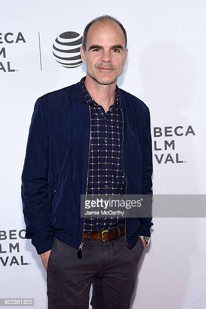 Actor Michael Kelly attends the 'Elvis Nixon' Premiere during the 2016 Tribeca Film Festival at BMCC John Zuccotti Theater on April 18 2016 in New...