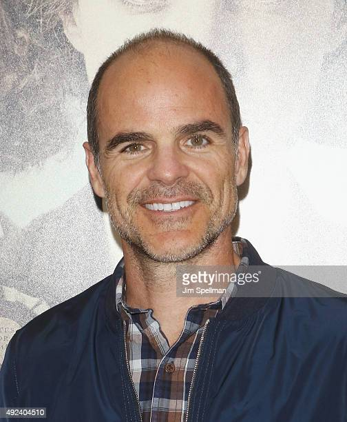 Actor Michael Kelly attends the 'Suffragette' New York premiere at The Paris Theatre on October 12 2015 in New York City