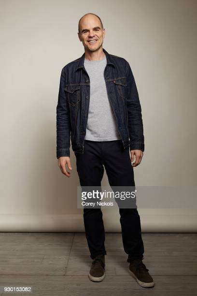 Actor Michael Kelly from the film 'All Square' poses for a portrait in the Getty Images Portrait Studio Powered by Pizza Hut at the 2018 SXSW Film...