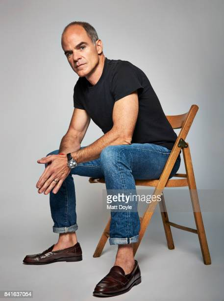 Actor Michael Kelly photographed for Back Stage on August 7 in New York City PUBLISHED COVER