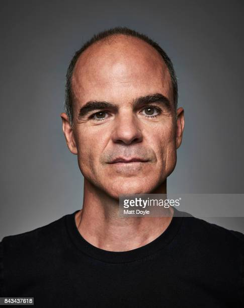 Actor Michael Kelly photographed for Back Stage on August 7 in New York City