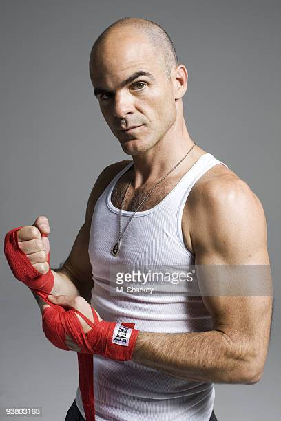 Actor Michael Kelly poses for a portrait session on August 22 New York NY
