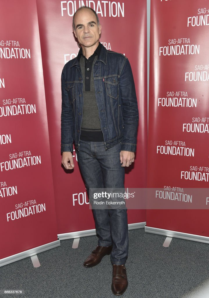 Actor Michael Kelly poses for portrait at SAG-AFTRA Foundation Conversations screening of 'The Long Road Home' at SAG-AFTRA Foundation Screening Room on October 30, 2017 in Los Angeles, California.
