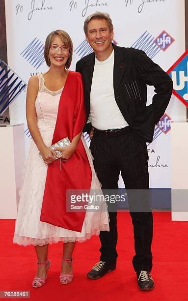 Actor Michael Kind and actress Yvonne Willicks attend the UFA 90th Birthday Gala at the Bertelsmann representation August 23 2007 in Berlin Germany