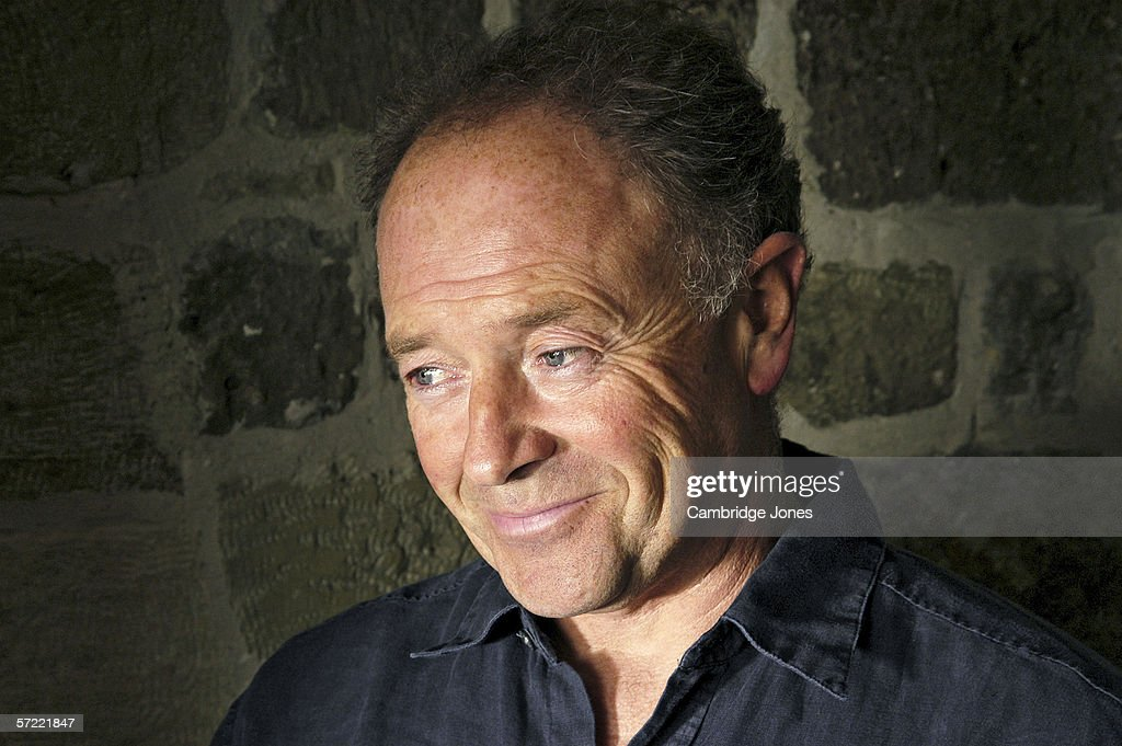 Actor Michael Kitchen Poses At His Home In DorsetEngland During January Of  2005