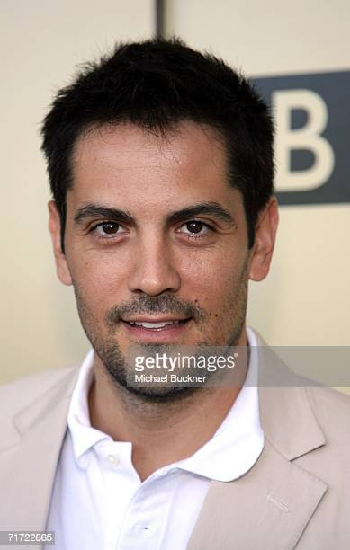 Actor Michael Landes arrives at the BAFTA/LAAcademy of Television Arts and Sciences Tea Party at the Century Hyatt on August 26 2006 in Century City...