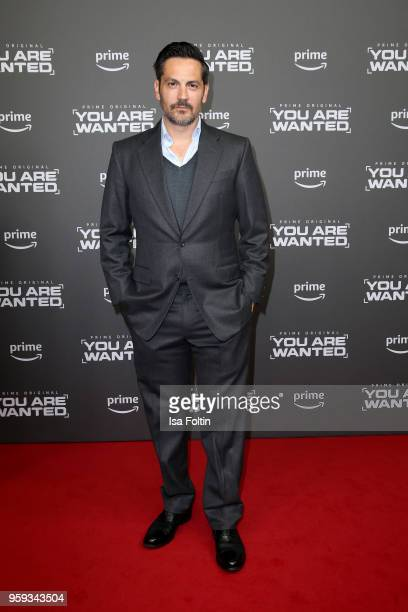 US actor Michael Landes attends the premiere of the second season of 'You are wanted' at Filmtheater am Friedrichshain on May 16 2018 in Berlin...
