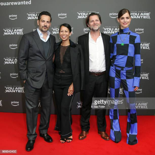 US actor Michael Landes German actress MinhKhai PhanThi German actor Joerg Pintsch and Dutch actress Hannah Hoekstra attends the premiere of the...