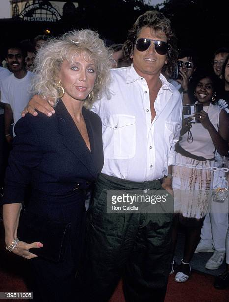 Actor Michael Landon and wife Cindy Landon attend The Who's Tommy 20th Anniversary Concert on August 24 1989 at Universal Amphitheatre in Universal...