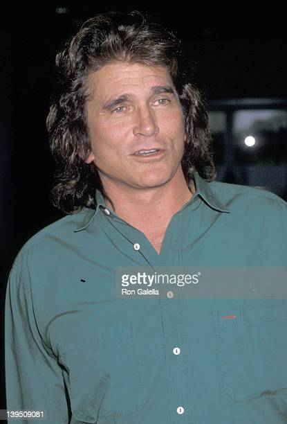 Actor Michael Landon attends the NBC Winter TCA Press Tour on January 10, 1990 at The Registry Hotel in Universal City, California.