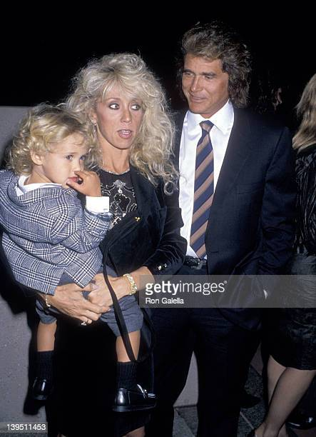 Actor Michael Landon wife Cindy Landon and son Sean Landon attend the National Down Syndrome Congress' Second Annual Michael Landon Celebrity Gala on...