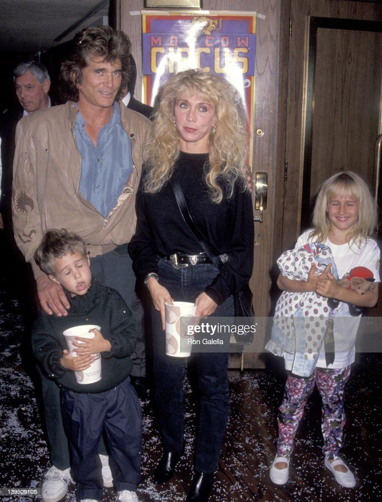Actor Michael Landon, wife Cindy Landon, son Sean Landon ...