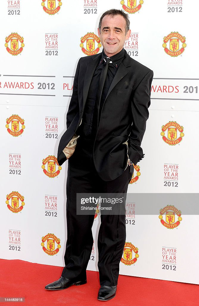 Actor Michael Le Vell attends the Manchester United Player Of The Year Awards at Old Trafford on May 14, 2012 in Manchester, England.